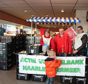 Partij van de Arbeid arbeidt voor de voedselbank